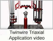 Twinwire Triaxial Application Video