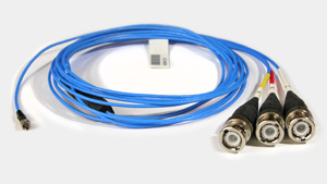 Accelerometer triaxial cable
